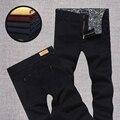 Бесплатная доставка плюс размер прямо хлопок Эластичность джинсы повседневные брюки свободные длинные брюки военные шаровары размер 28-48