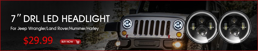 led headlight for Jeep