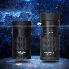 Zoom professionnel monoculaire 4x12 télescope étanche HD Portable télescopique Spyglass binoculaire chasse tir Golf tourisme
