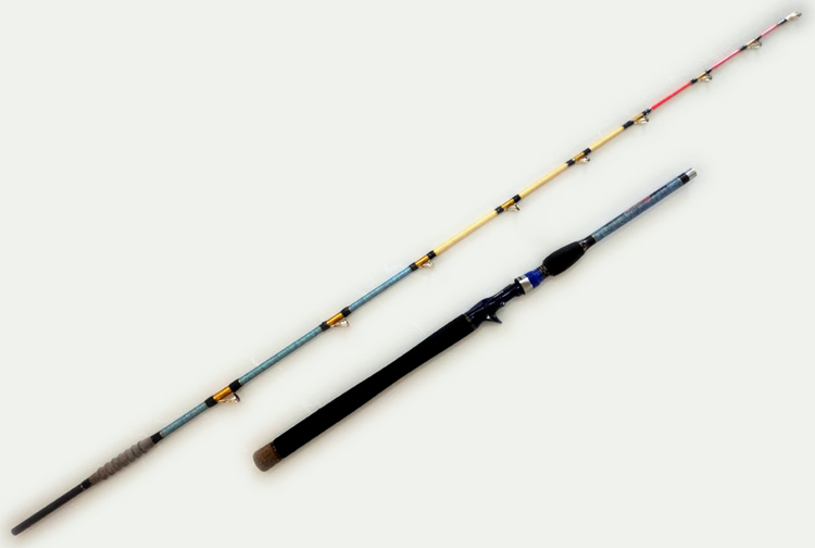 1pc 1.65m 1.8m 1.95m Boat rod Jigging Rod baitcasting fishing rod high carbon fishing rod free shipping 1 65m 1 8m high carbon jigging rod 150 250g boat trolling fishing rod big game rods full metal reel seat sic guides eva handle