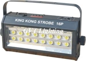Image 4 - חם למכור מתח גבוה סופר בהיר DMX שליטה קולית 16 LED הסטרובוסקופ 400W Strobe מנורת מסיבת דיסקו DJ בר אור strobe אורות