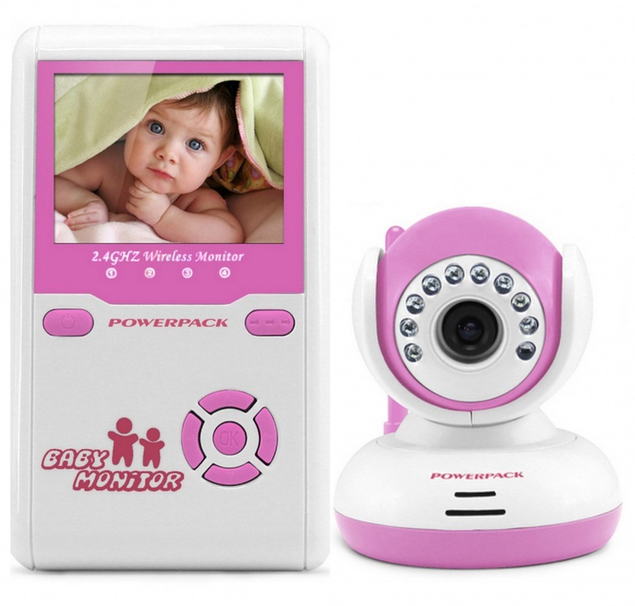 2.4GHz digital baby monitors video babysitting 2.4 inch LCD Intercom IR Night vision Lullabies VOX baby monitor fetal doppler