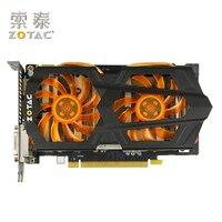 Original ZOTAC Video Cards GTX650 Ti Boost 2GD5 192bit GDDR5 Graphics Cards For NVIDIA GeForce GTX