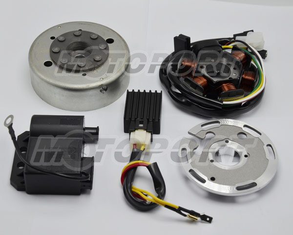 6pcs Flywheel Set For Zundapp with DUCATI ignition with cable connector