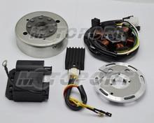 케이블 커넥터가있는 DUCATI 점화 기능이있는 Zundapp 용 AM6 12V 플라이휠 세트