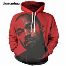 Liumaohua 2018 moda hombres mujeres 3D Sudaderas Tupac Shakur 2Pac carácter  imprimir Jumper HOODIE ocasional dfe9491198e
