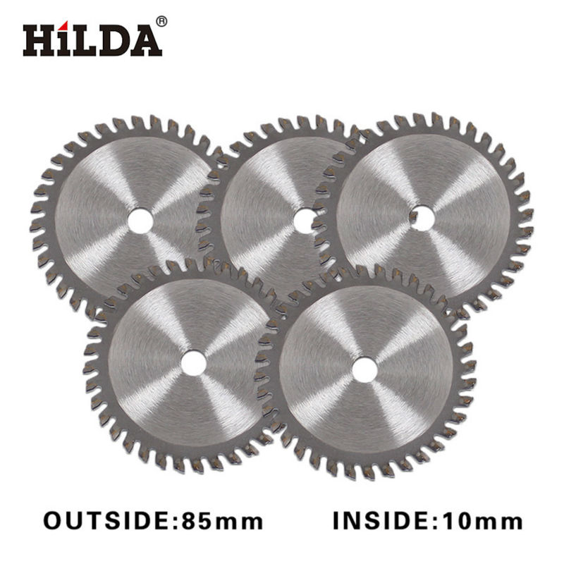 HILDA 5pcs Blades 36tooth blade for electric mini circular saw accessories for Multi Function electric mini saw 10pcs lot 3 3 8 inch diamond blades for electric mini circular saw accessories for multi function mini saw inner dia 15mm