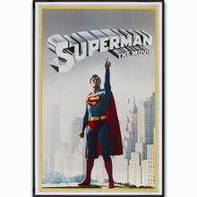 Nuevo superhéroe de la película superhéroe Vintage 14x21 24x36 27x40 pulgadas póster de seda lienzo de pared decoración X-479