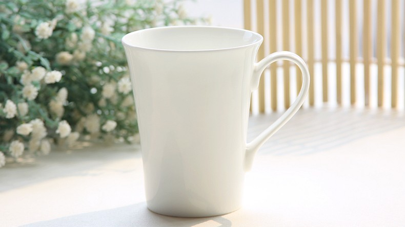 Buy 370ml Bone China White Porcelain