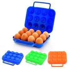 Переноска Складная на 12 яиц для кемпинга пикника пешего туризма