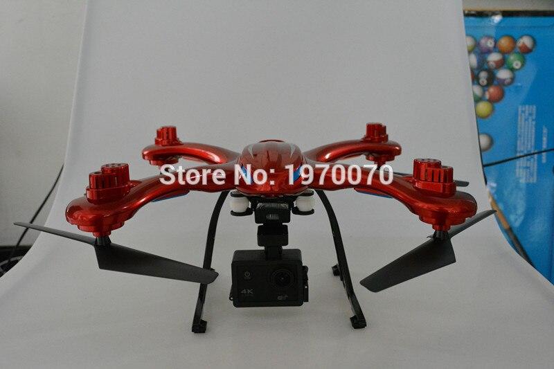Drone quadrirotor MJX X102H 2.4G RC avec Mode d'altitude pression d'air ensemble élevé caméra FPV Wifi une clé retour décollage atterrissage - 4
