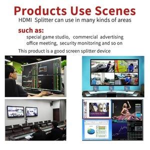 Image 2 - ميرابوكس 4X1 HDMI متعدد المشاهد HDMI شاشة رباعية الوقت الحقيقي متعدد المشاهد مع HDMI سلس الجلاد 1080p HD IR HDMI التبديل