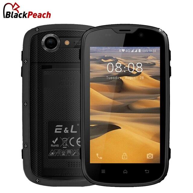 E & L W5S мобильного телефона Водонепроницаемый противоударный IP68 Android 6.0 4 ядра 1 ГБ Оперативная память 8 ГБ Встроенная память 2800 мАч 3 г WCDMA Dual SIM смартфон