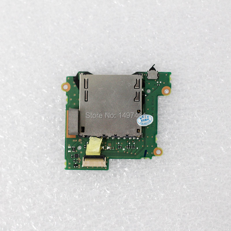 Used SD card memory slot holder board parts for Canon EOS 1200D;Rebel T5;Kiss X70;DS126491 SLR