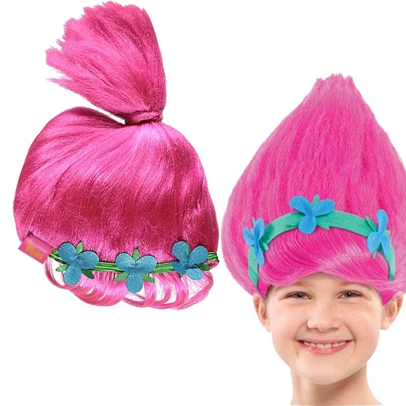 Trolls Poppy Wig For Kids 36cm Wig Children Cosplay Party ...