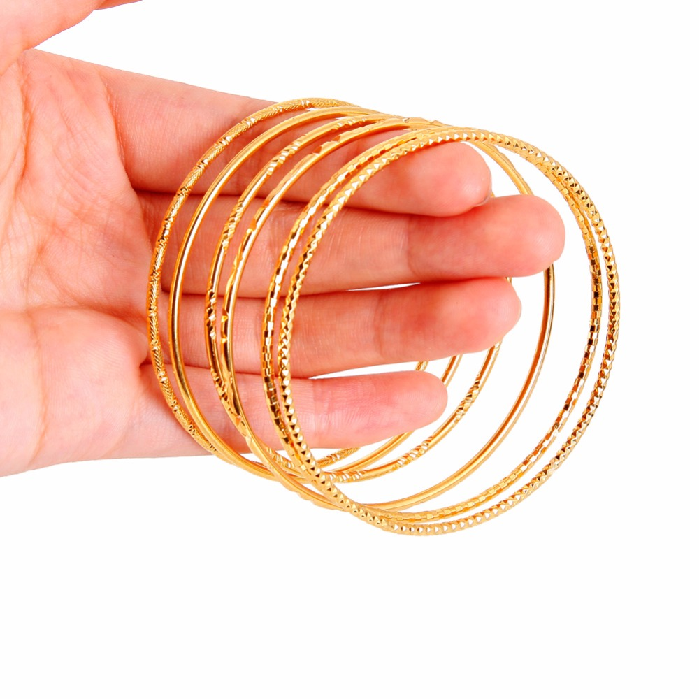 smooth men single bangle bracelet ring brand women with gold rose trendy slim product circle fashion jewelry bangles surface s simple plated circles