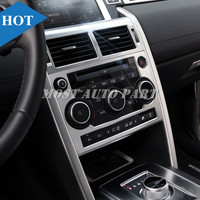 Inner Console AC & CD Panel Trim Cover For Land Rover Discovery Sport 2015 2018