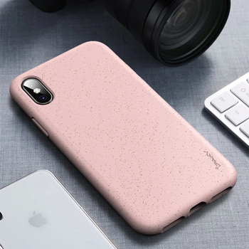 iPhone XS Max Case Silicone Pink