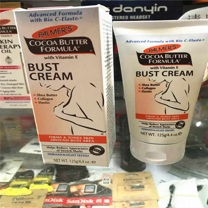 Palmer S Cocoa Butter Formula Bust Cream 4 40 Oz 125g