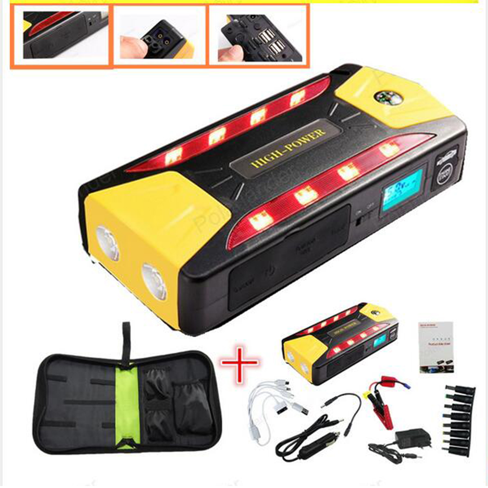 portable car jump starter multi function power bank mobile. Black Bedroom Furniture Sets. Home Design Ideas