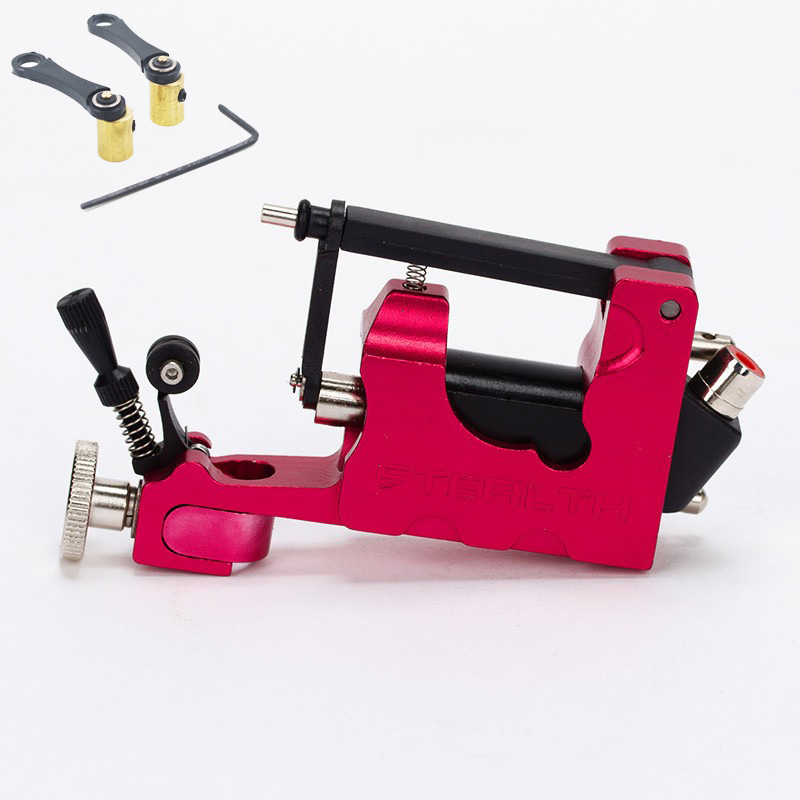 Electric Tattoo Machine Alloy Stealth  Rotary Tattoo Machine 7 colors Permanent Makeup Tattoo Machine kit 1 set/lotElectric Tattoo Machine Alloy Stealth  Rotary Tattoo Machine 7 colors Permanent Makeup Tattoo Machine kit 1 set/lot
