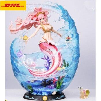 """21 """"Anime Sexy figurki posąg jeden kawałek biust Shirahoshi na portretach syrenka księżniczka GK figurka PF zabawki 53CM B1149"""