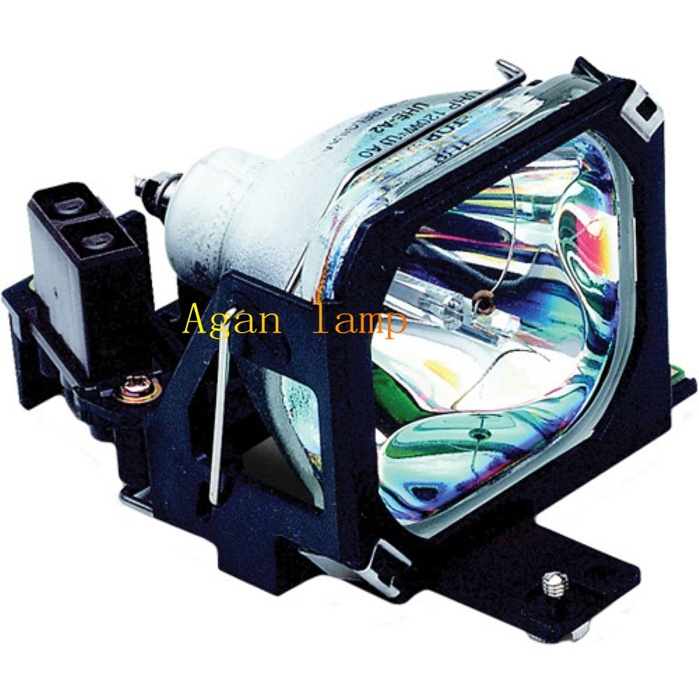 Epson ELPLP07 / V13H010L07  Projector Replacement Lamp For- EMP-5500,EMP-5500C,EMP-5550,EMP-5550C,EMP-7500,EMP-7500C Projectors. awo quality projector bulb replacement emp 77 emp s5 emp s52 emp s6 emp x5 emp x52 emp x6 emp ex21h283a h284a for epson elplp41