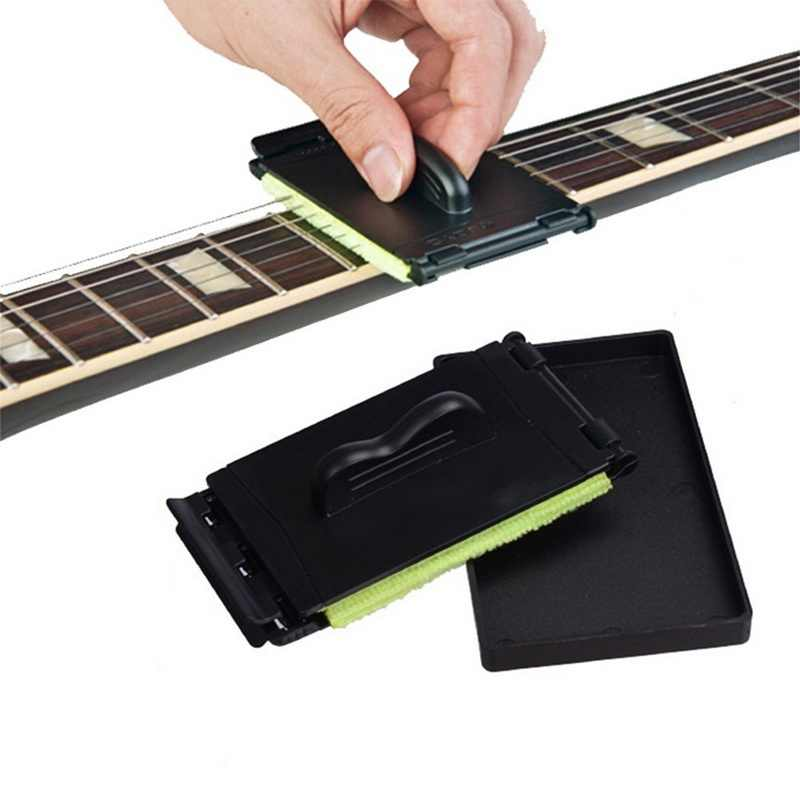Ergonomic Electric Guitar Bass Strings Scrubber Rub Cleaning Maintenance Care Guitar String Cleaner Instruments Accessories