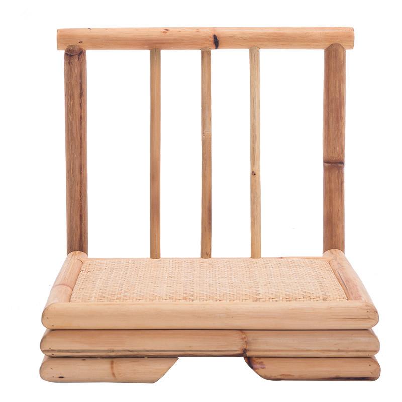 ratn moderna sala de estar muebles de bamb de bamb de estilo japons silla zaisu tatami