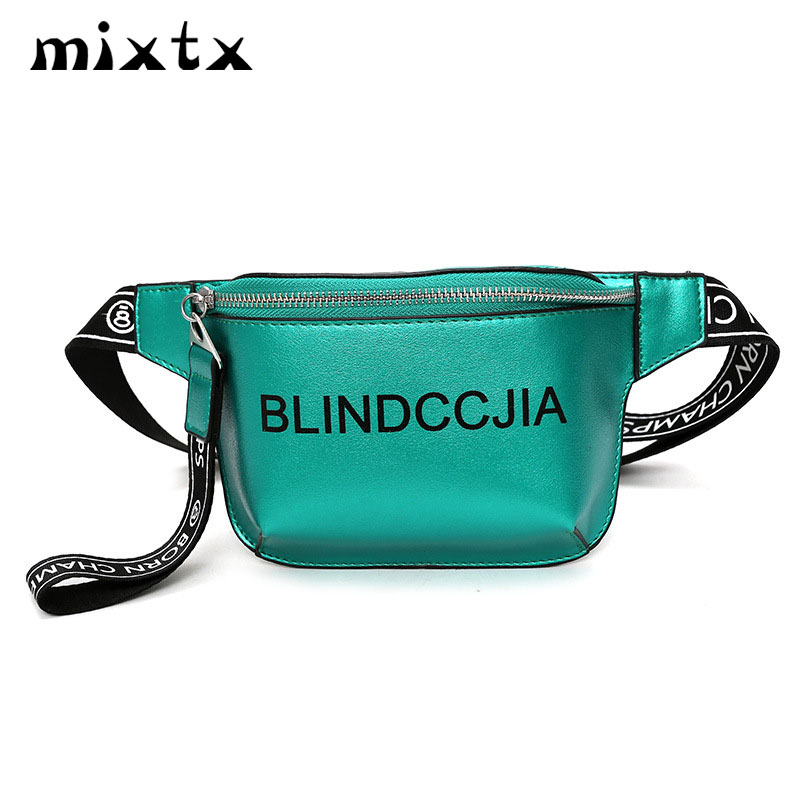 c78dc2e4e29 2018 Hot Sale Waist Bag Women Trend Fanny Pack PU Leather Fashion Beach  Female Shoulder Belt Bag Chest Pack Hands Free Crossbady