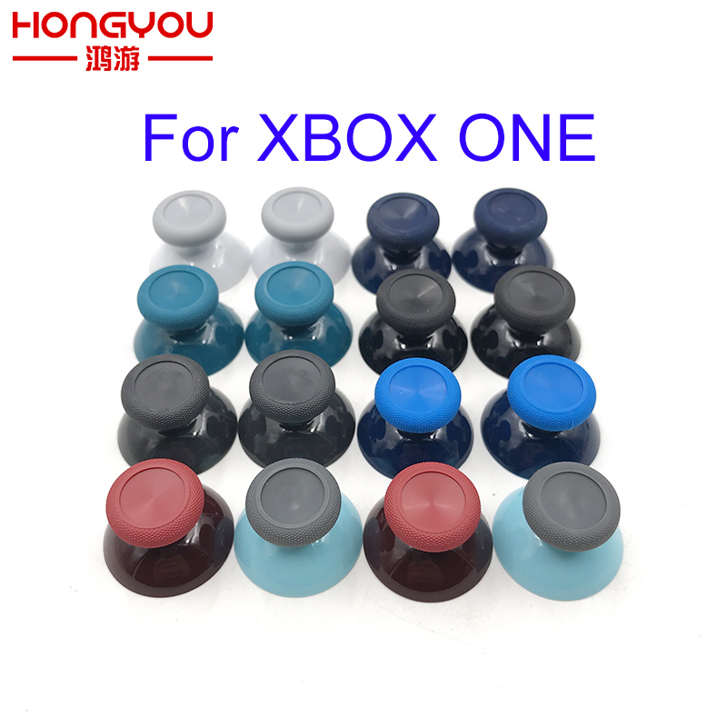 1PC For Microsoft XBox One X S Controller Original 3d Analog Grip Joystick Cap Blue Red