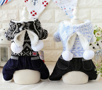 Cotton Clown Dog Bathrobe Jumpsuits Dog Pajamas Clothing For Dogs Pet Puppy Cat Small Dog Clothes