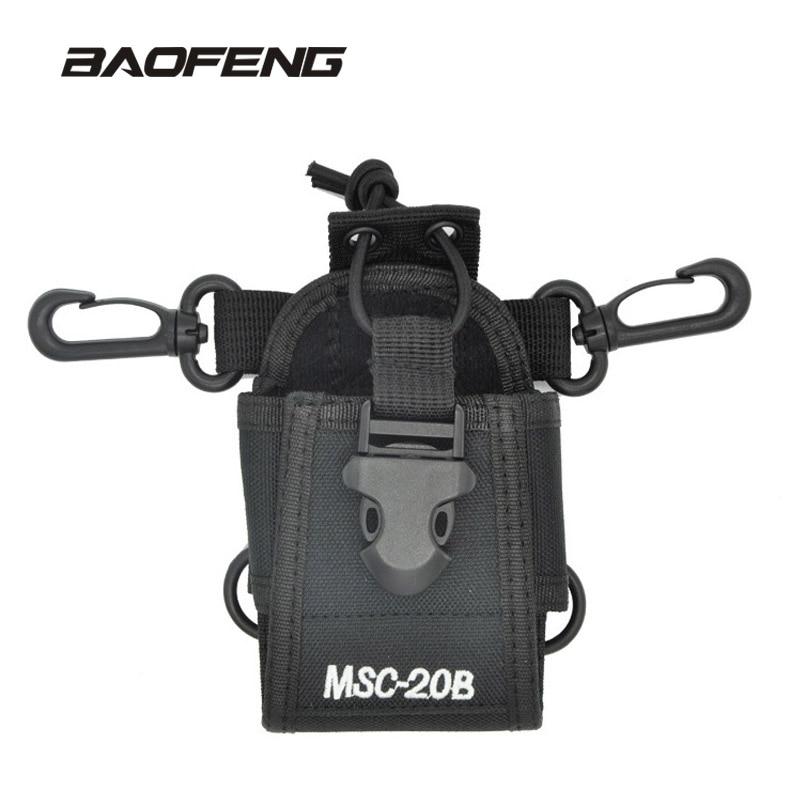 Baofeng Talkie Walkie Accessoires MSC-20B titulaire Cas sac de radio pour Baofeng CB radio UV-5R UV-5RE UV-B5 888 s