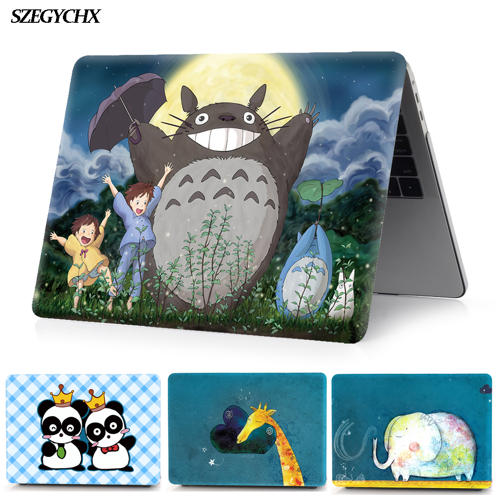 Hard Laptop Case For Apple Macbook New Air 13 A1932 Case For Macbook Pro 16 13 Shell 12 15 11 Inch Touch Bar 2020 New Cover