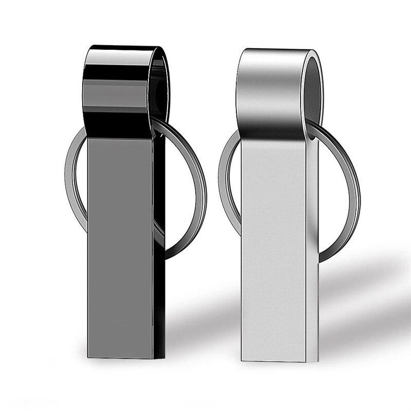 New USB Flash Drive 16GB 8GB 32GB 64GB 128GB Pendrive High Speed Pen Drive 128 64 32 16 8 GB Metal Flash Disk USB 3.0 Stick