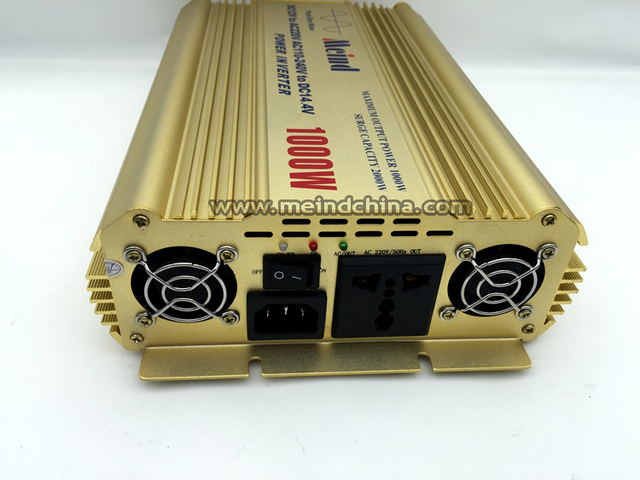High Quality Pure Sine Wave Built-In Charger DC 24V to AC 220V Continuous 1000W Peak 2000 Watt Power Inverter