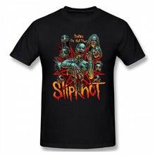 Men slipknot band tour 2019 100% Cotton Short Sleeve Tee T-Shirt Newest 2019 Fashion Stranger Things T Shirt Men цена и фото