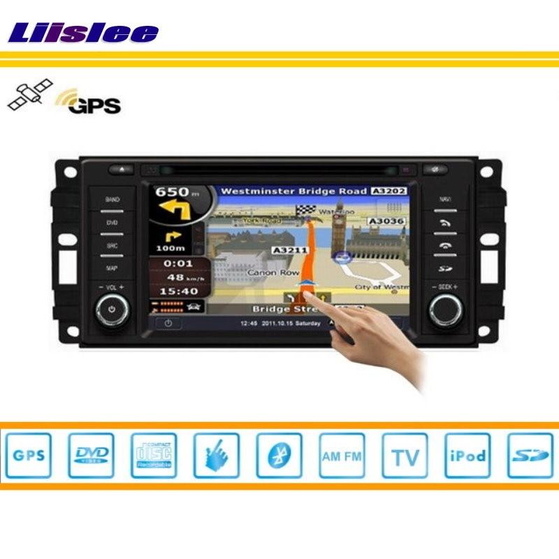 Liislee For Chrysler Aspen 2008~2009 Radio CD DVD Player Stereo TV iPod HD Screen GPS Map Nav Navi Navigation Multimedia System