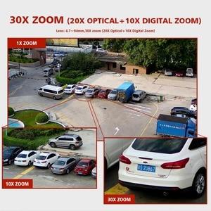 Image 5 - Cámara IP de 4MP para exteriores, 5MP, PTZ, 1080P, ONVIF, Zoom 30X, impermeable, IP66, Mini cámara domo de velocidad H.264, IR, cámara de seguridad CCTV de 120M