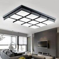 Новый cube led квадрат потолка гостиной столовой спальня лампа настоящий творческий минималистский современные потолочные светильники FG139