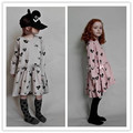 2017 spring beau loves baby girls dresses kids dresses 360 dresses kids long sleeved dress girls clothes baby girl  clothing