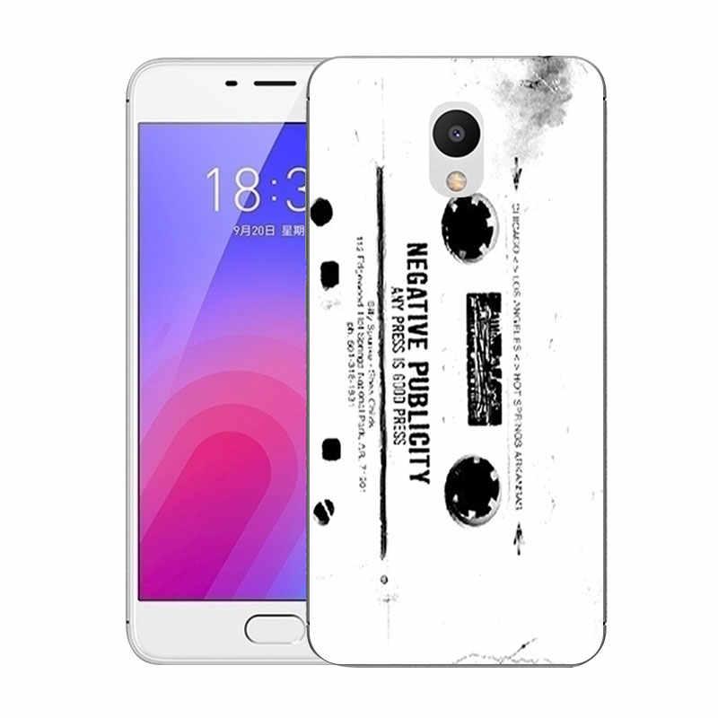 Für Meizu M6 Fall 5,2 ''Strom Gedruckt Weiche Silikon TPU Rückseitige Abdeckung für Meizu M6 M 6 Mini M711Q M711C Ausgestattet Telefon Klare Fälle