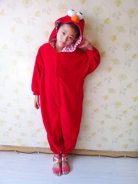 image  sc 1 st  Aliexpress & Online Shop Children Boy Girls Sesame Street Costume Onesies Red ...