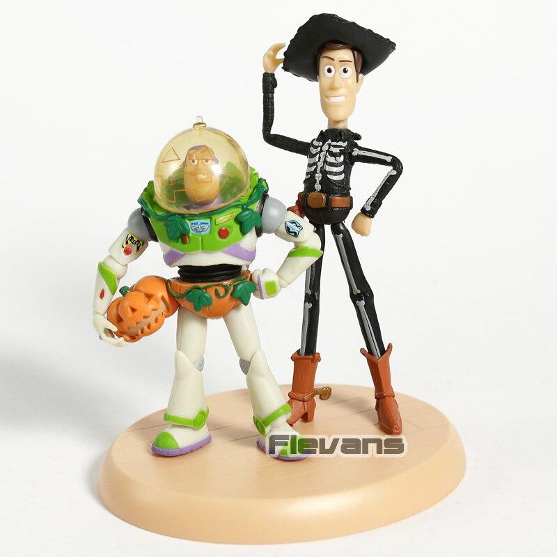 Toy Story Woody Buzz Lightyear Jessie Rex Bullseye Lotso dibujos animados  PVC figuras juguetes 10 unids 906de28741c