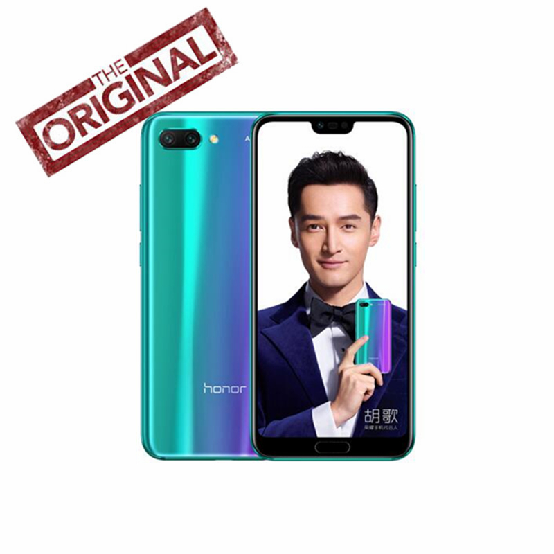 Global Version Huawei Honor 10 Smart Phone 4G LTE 24 0MP AI Camera 3D Curved Glass