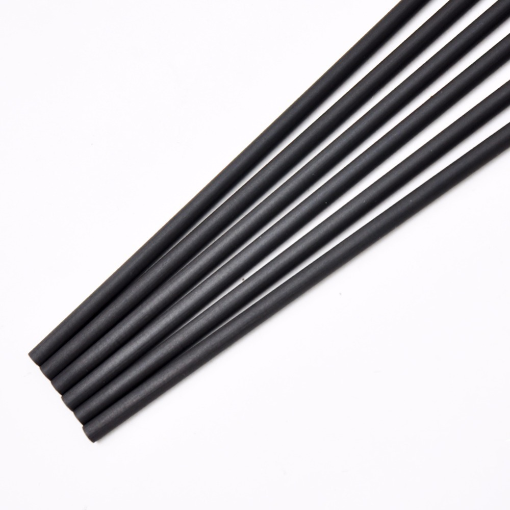 12pcs 32 33 inches Spine 700 800 Pure Carbon Arrow Shaft ID4 2 mm Arrow Accessory