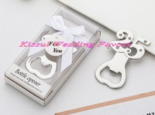 (25 Pieces/lot) Event and Party gift Silver 25th Wedding Anniversary 25 Design Bottle Opener favors for 25th Wedding celebrating