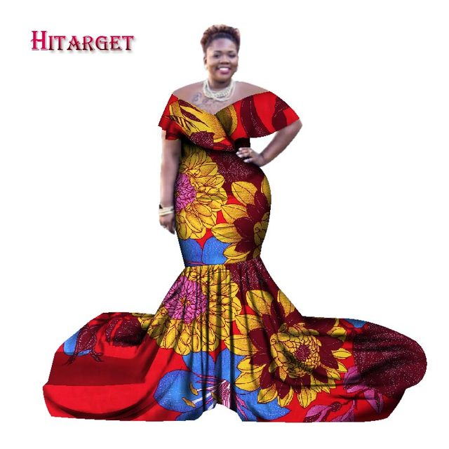2018 african dresses for women bazin riche style femme african ...