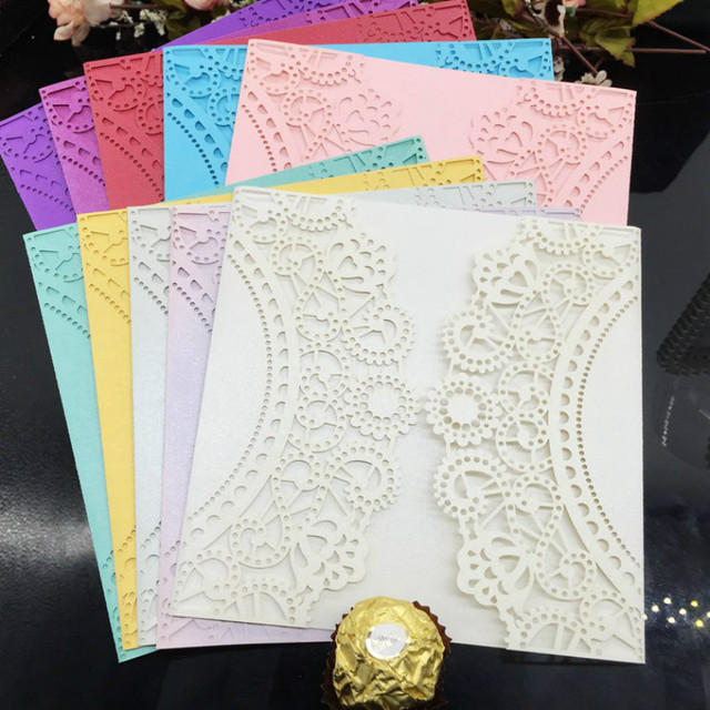 2016 30pcslot wedding party birthday invitations card hollow 2016 30pcslot wedding party birthday invitations card hollow invitation gift envelope paper postcard letter stopboris Gallery