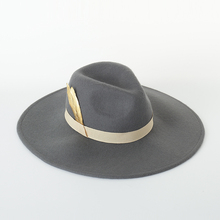 Autumn Winter New Hats For Women Soft Wide Brim Wool Felt Bowler Fedora Hat Floppy Cloche Womens Feather decoration hat